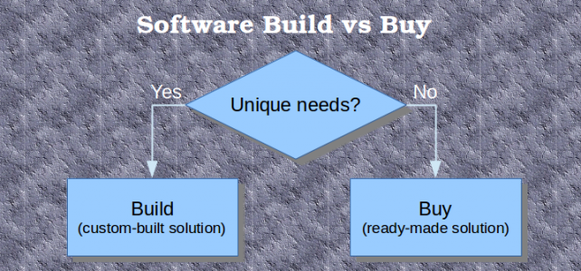 Software Build vs Buy