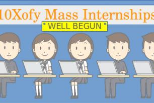 Mass Internships Well Begun